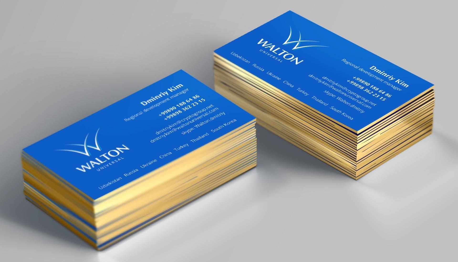 Корпоративные визитки в Москве | фото 3