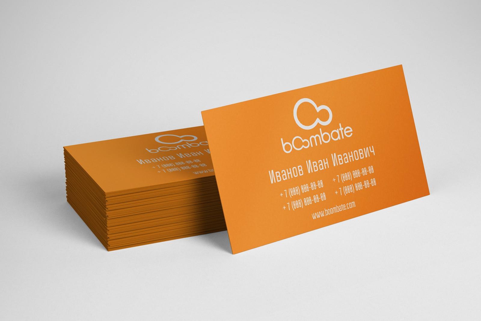 Односторонние визитки в Москве | фото 7