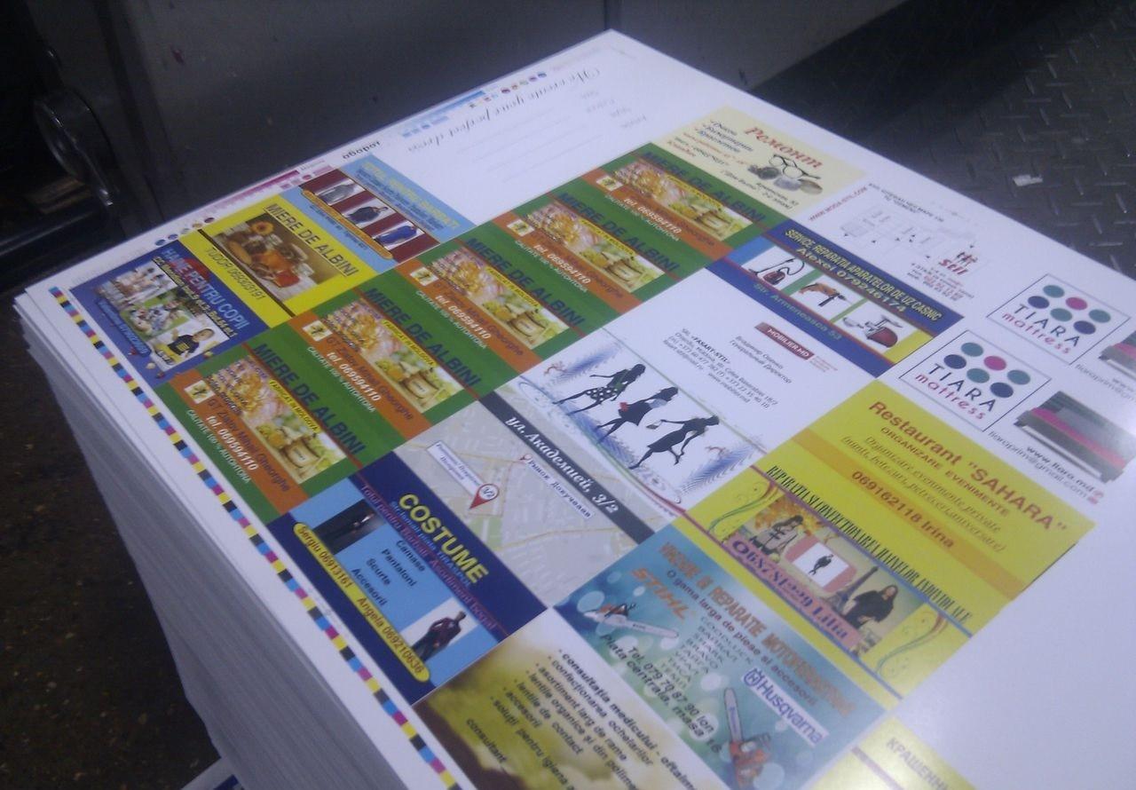 Офсетная печать листовок в Москве | фото 5