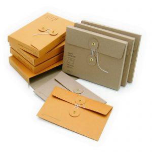 Папки картонные с приклейным клапаном