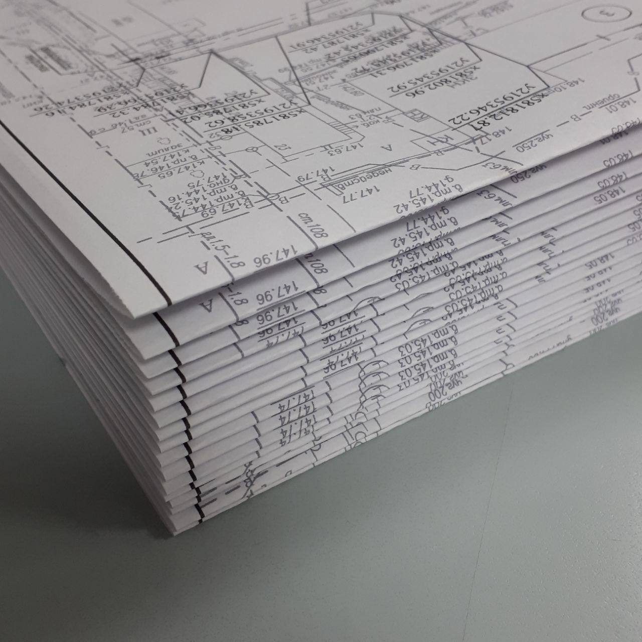 Печать чертежей А1 в Москве | фото 3