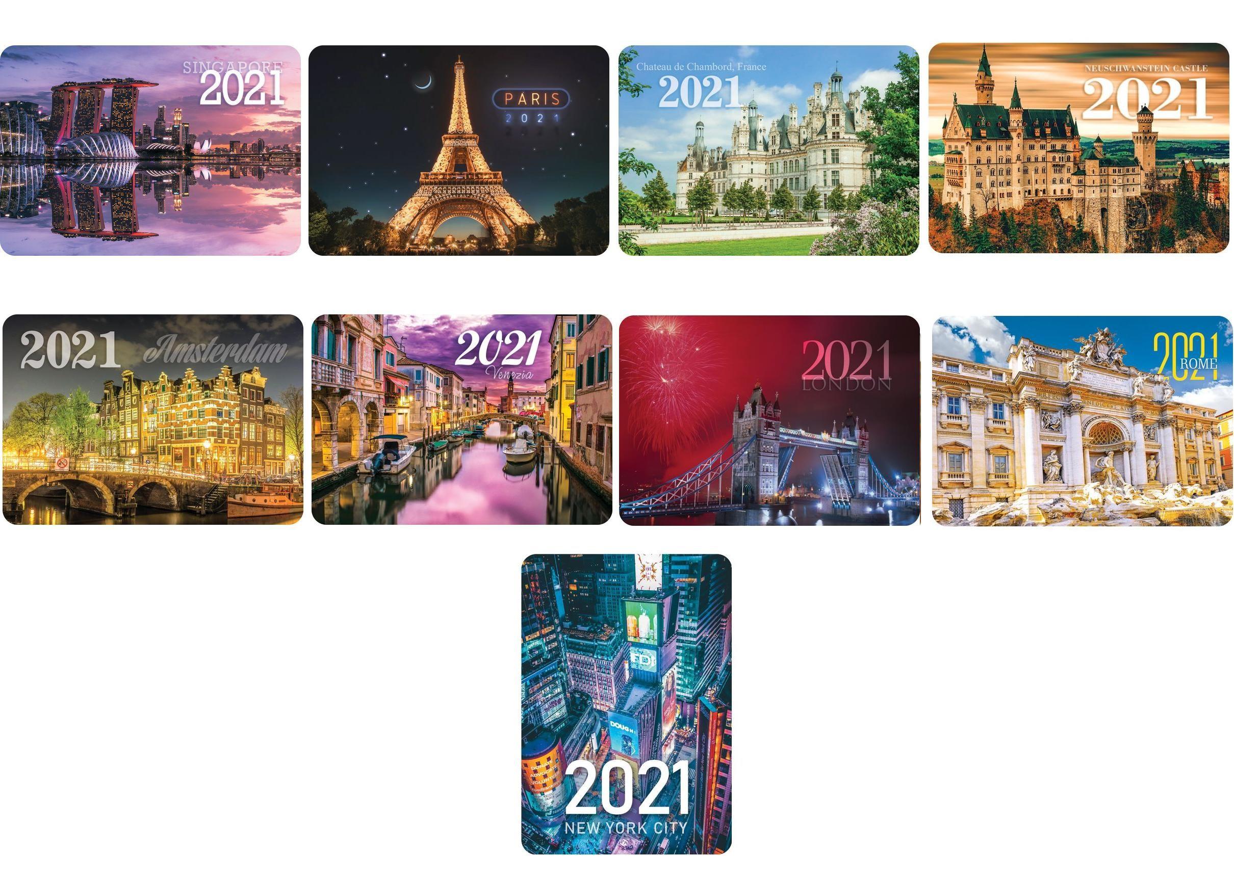 Печать карманных календарей 2021 в Москве | фото 7