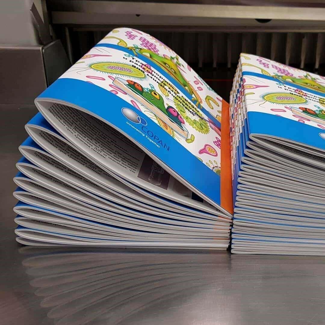 Печать каталогов на скрепке в Москве | фото 3