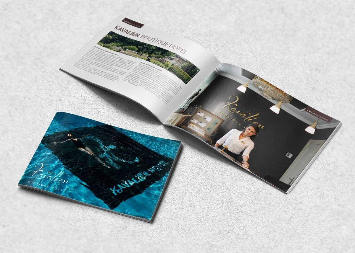 Печать каталогов на скрепке
