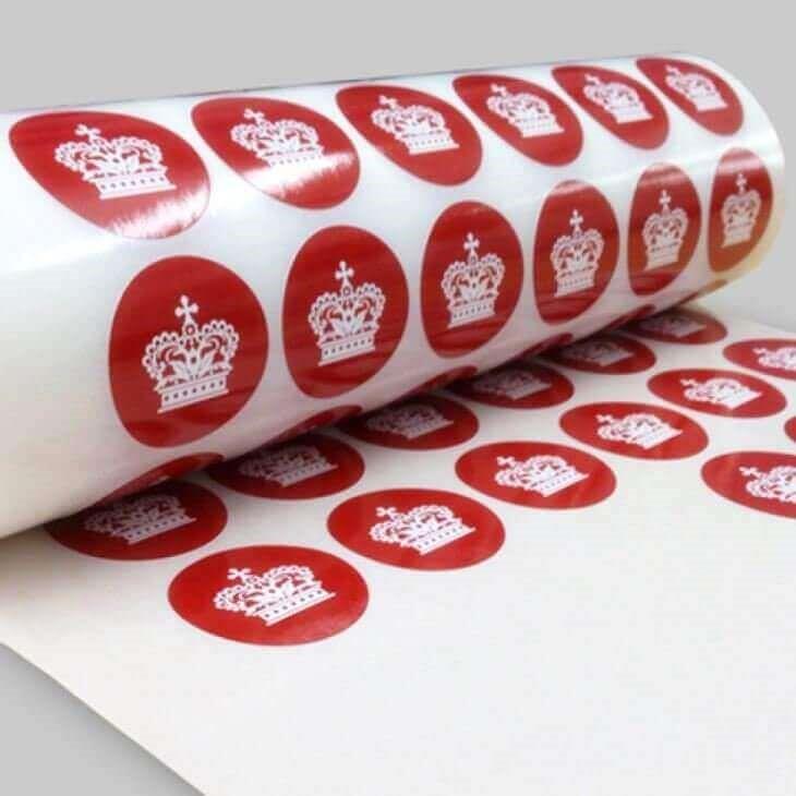 Печать круглых наклеек в Москве | фото 3