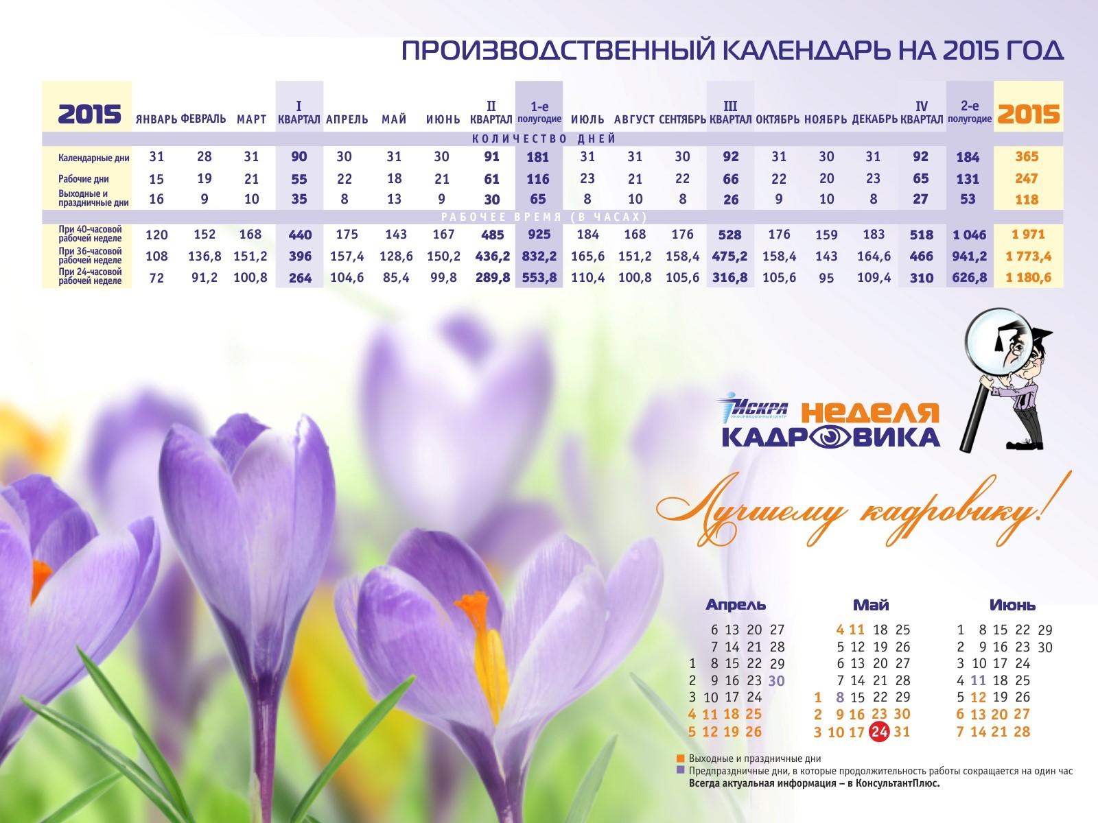 Печать квартальных календарей в Москве | фото 7
