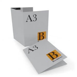 Печать лифлетов А3