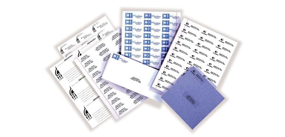 Печать наклеек на бумаге в Москве | фото 7