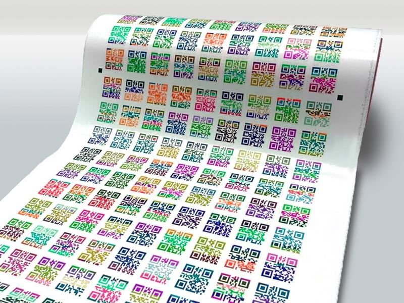 Печать наклеек на бумаге в Москве | фото 8