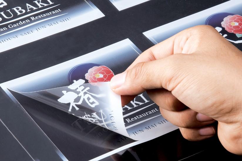 Печать наклеек на пленке в Москве   фото 5