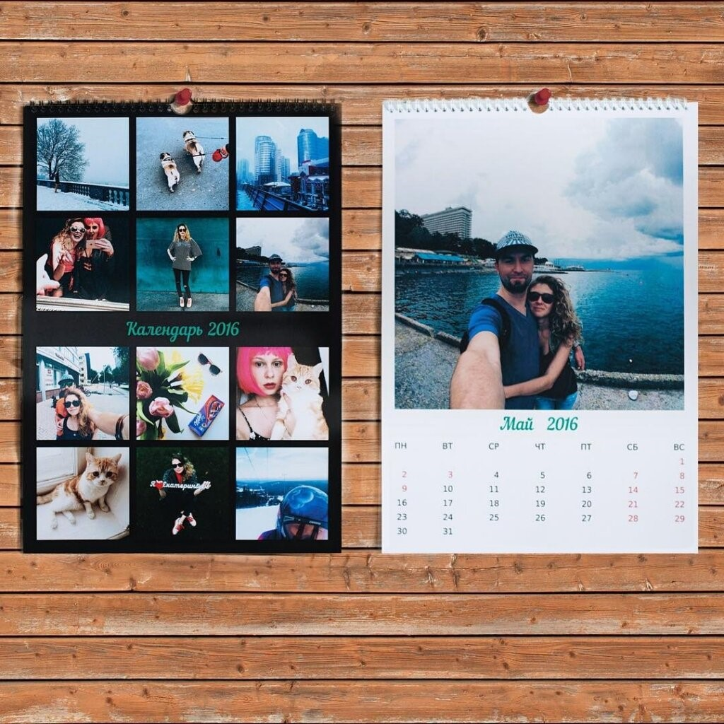 Печать перекидных настенных календарей в Москве | фото 5