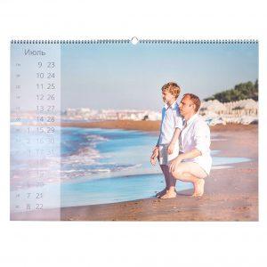 Печать перекидных настенных календарей