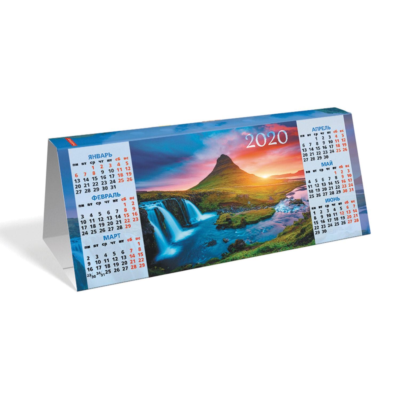 Печать самосборных календарей-домиков в Москве | фото 2