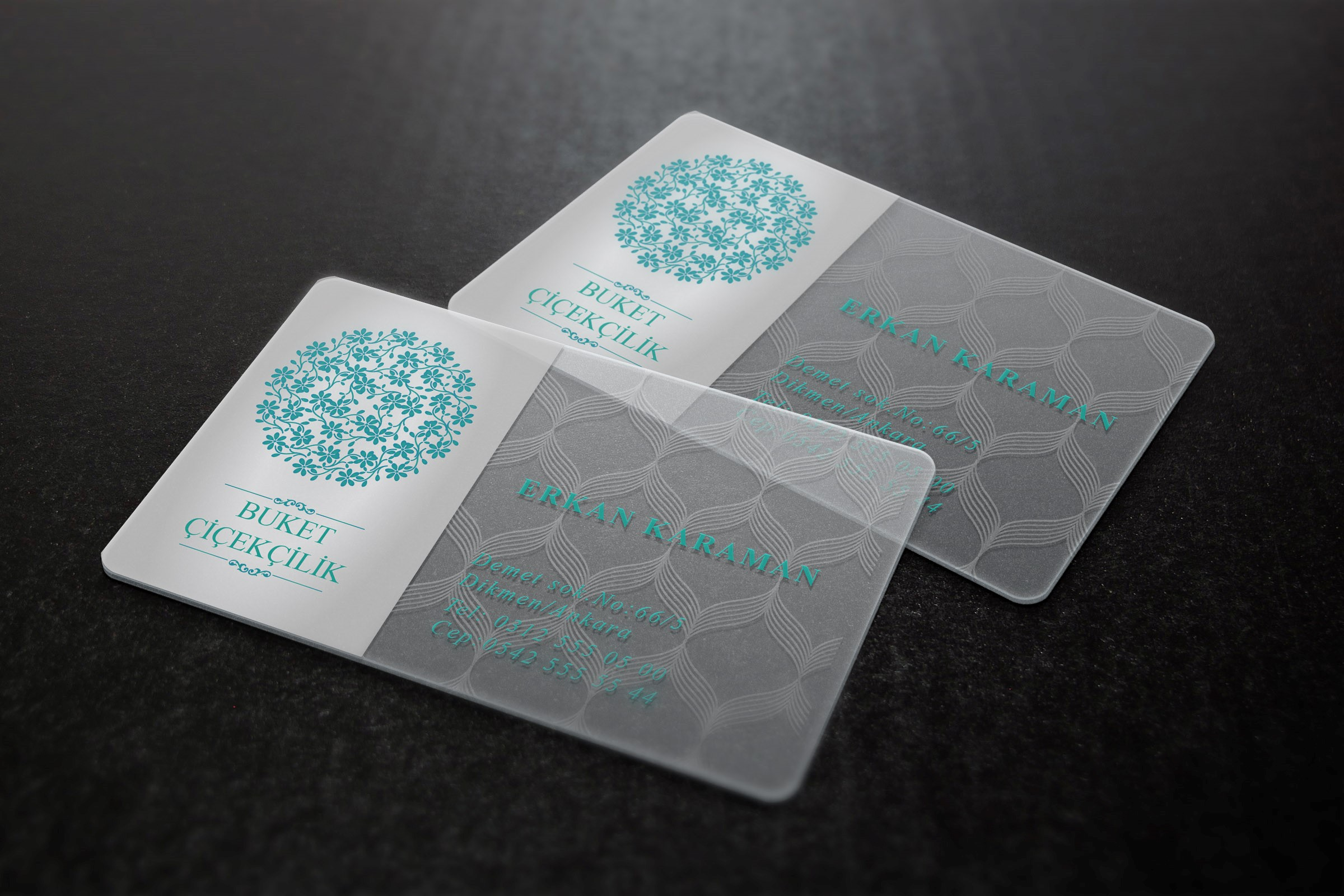 Прозрачные визитки в Москве | фото 4