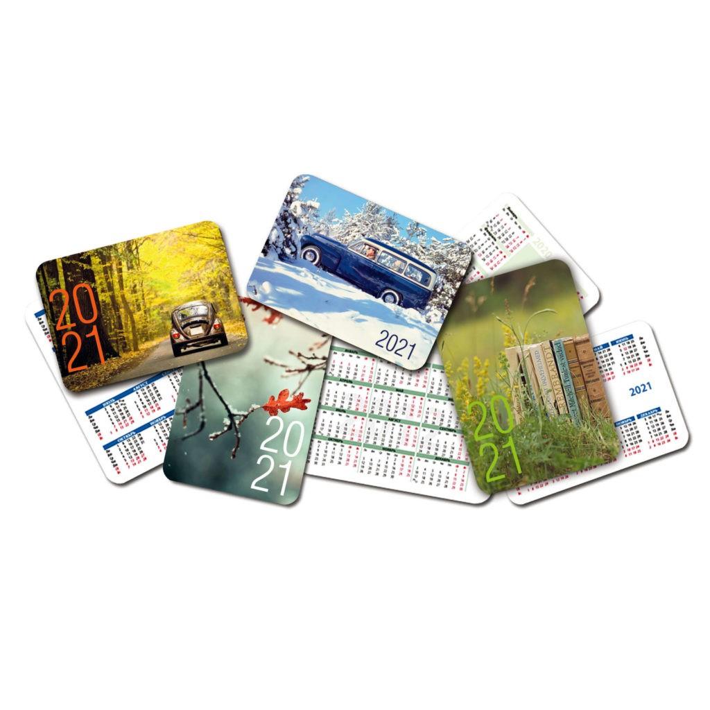 Разработка дизайна карманных календарей в Москве | фото 5