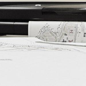 Широкоформатное сканирование чертежей