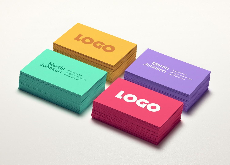 Цветные визитки в Москве | фото 8