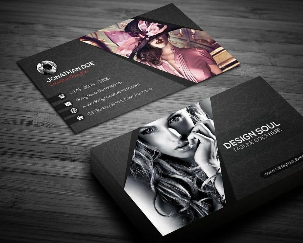 Визитки для дизайнеров в Москве | фото 2