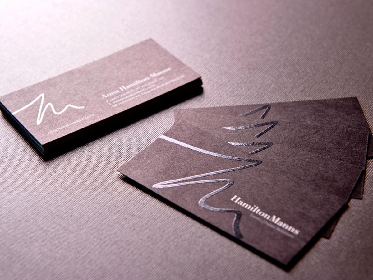 Визитки на дизайнерской бумаге в Москве | фото 8