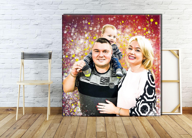 Печать на холсте портретов в Москве   фото 5