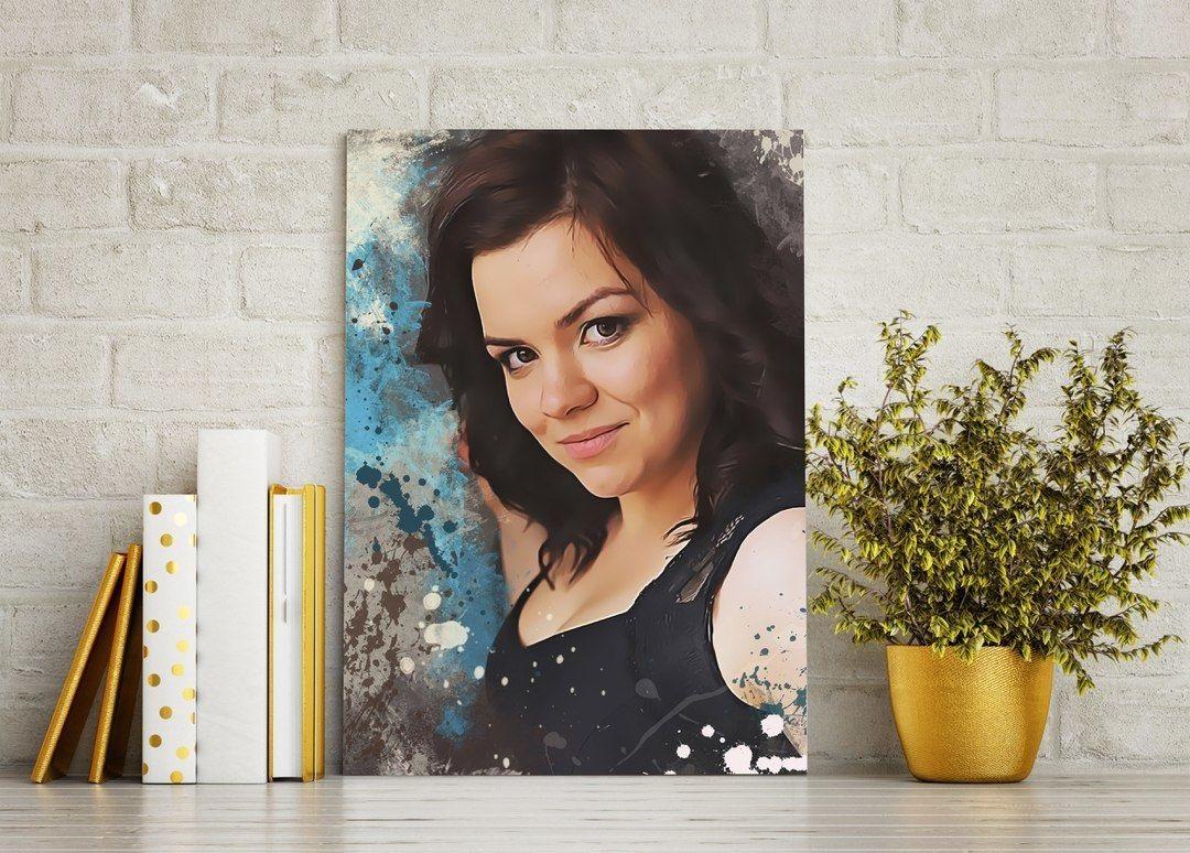 Печать на холсте портретов в Москве   фото 7