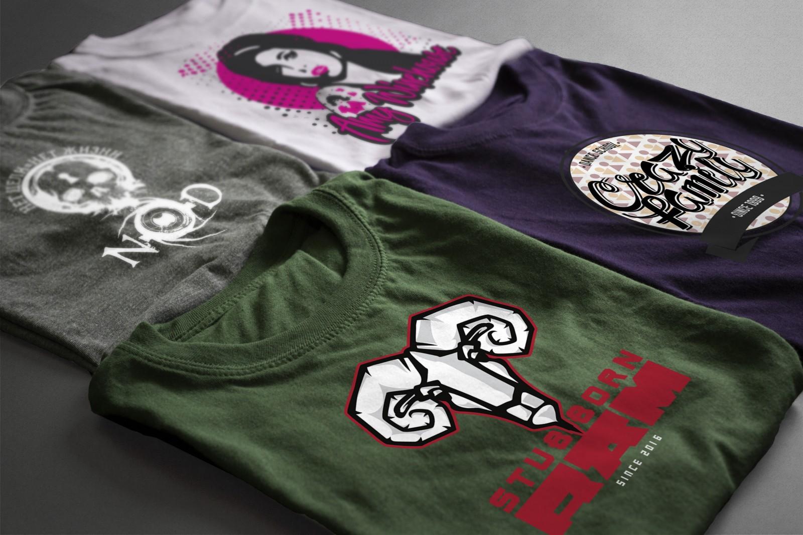 Печать на одежде в типографии