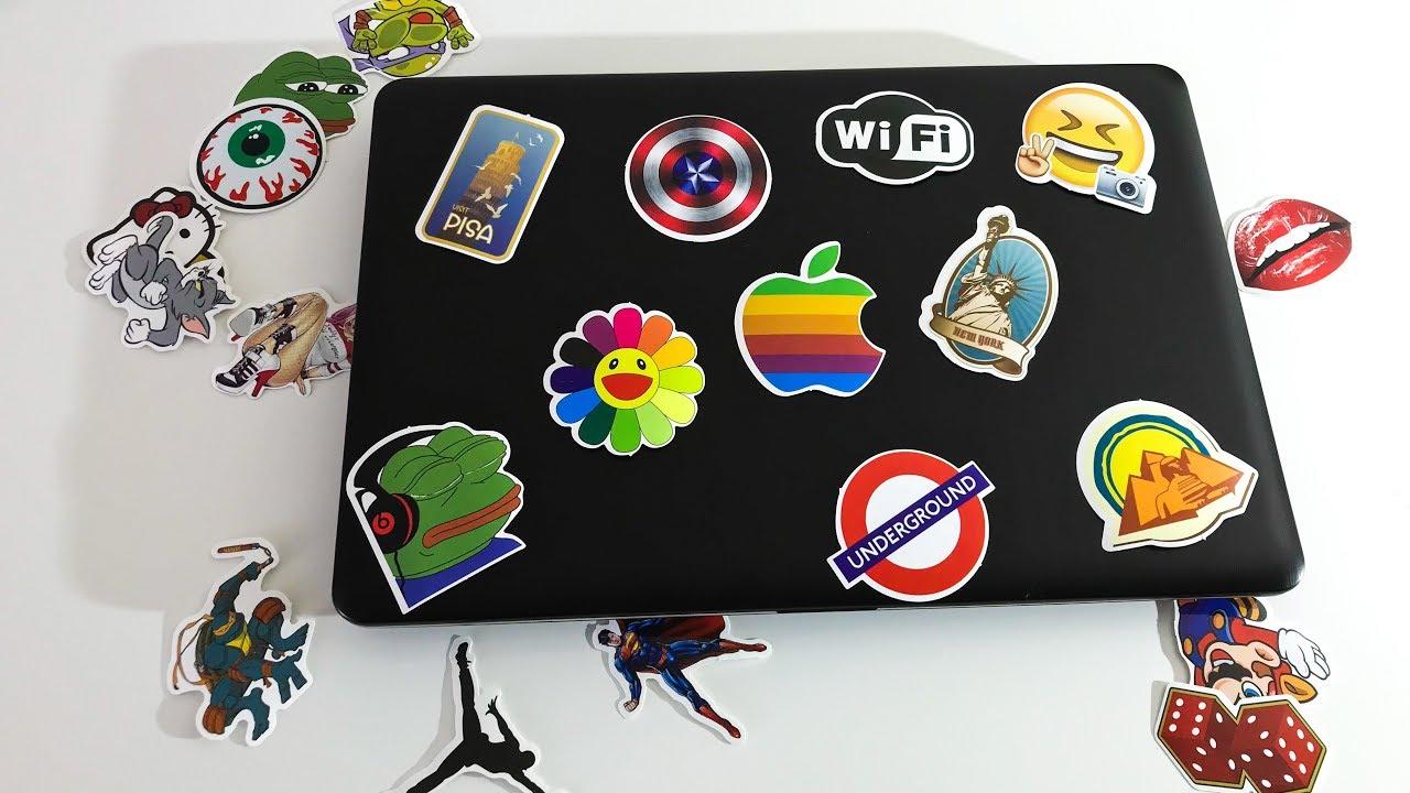 Печать наклеек и стикеров на ноутбук в Москве | фото 8