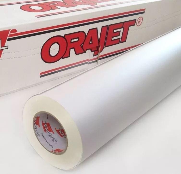 Печать стикеров на плёнке Orajet