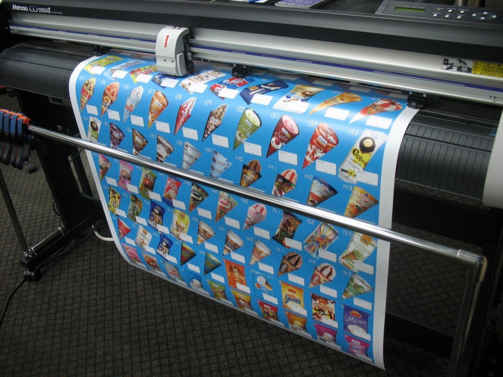 Печать стикеров на плёнке Orajet в Москве | фото 4