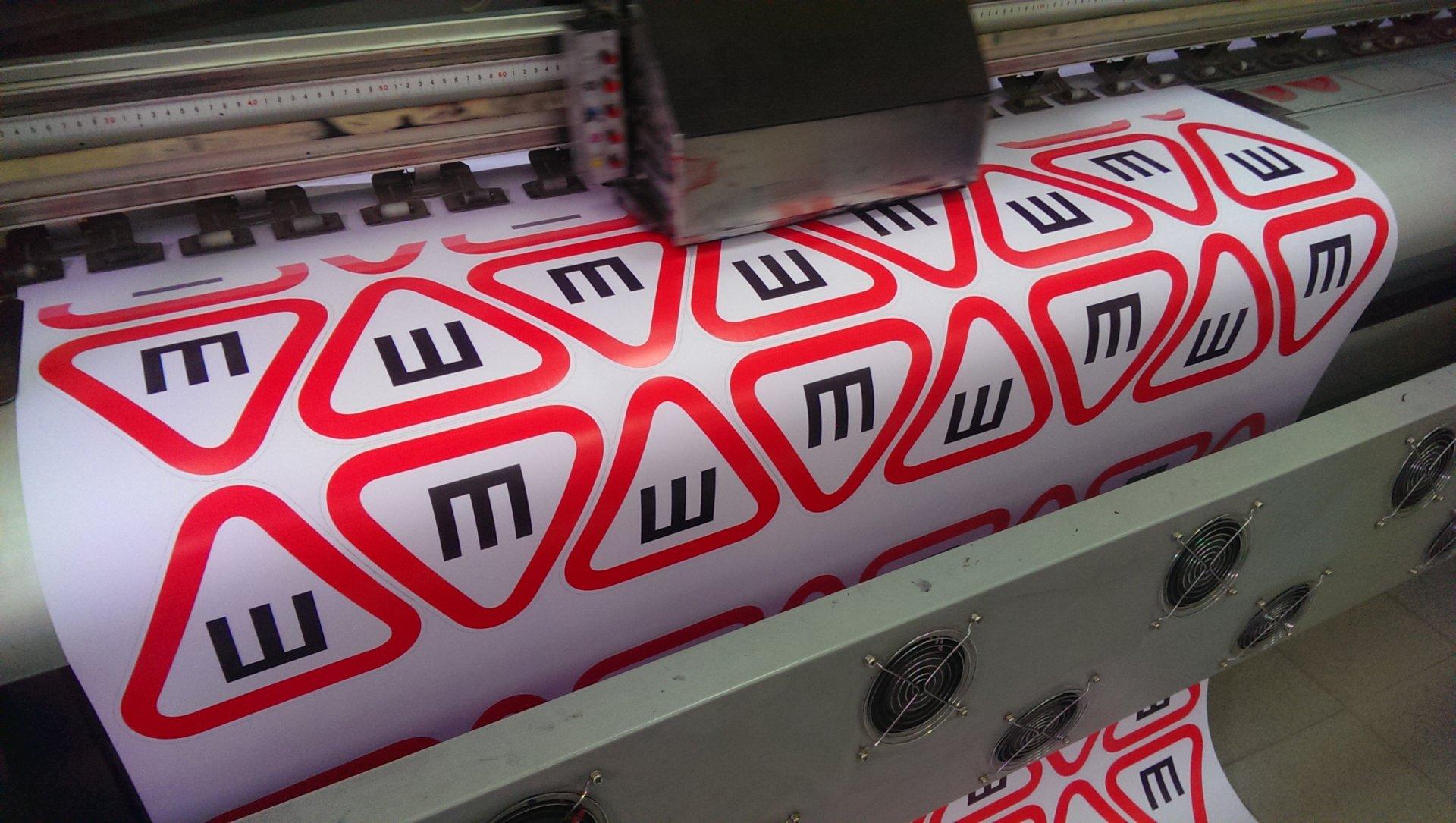 Печать стикеров на плёнке Orajet в Москве | фото 5