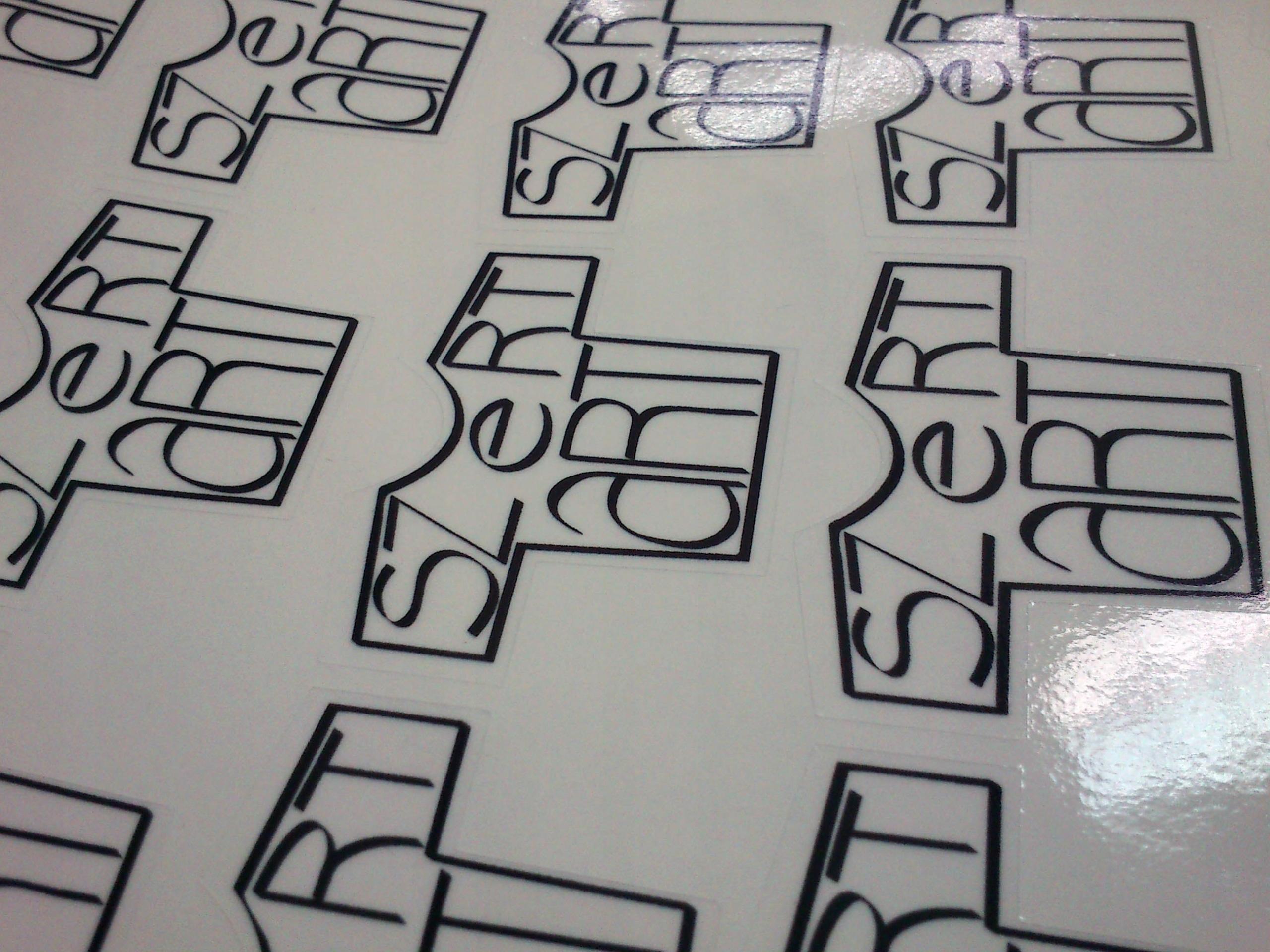 Печать стикеров на прозрачной плёнке в Москве | фото 5