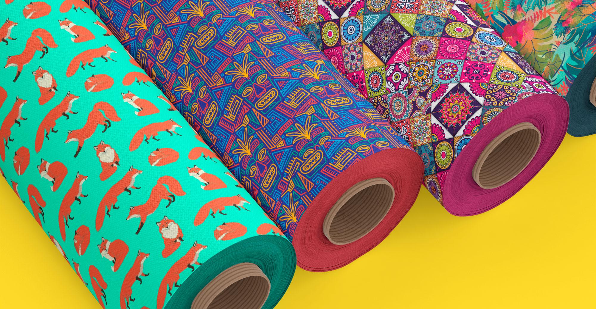 Интерьерная печать на ткани в Москве | фото 2