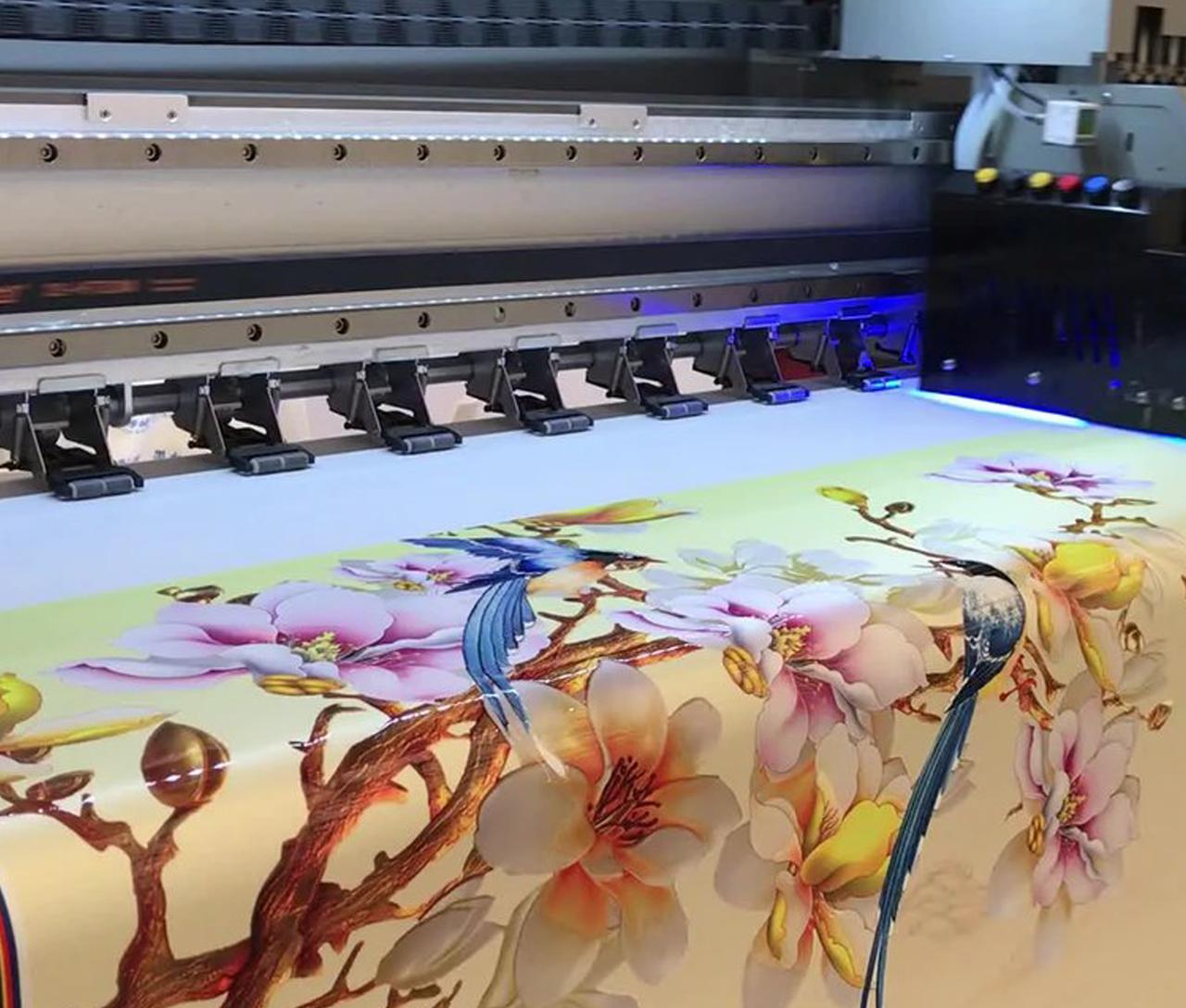 Интерьерная печать на ткани в Москве | фото 4