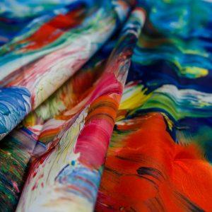 Интерьерная печать на ткани