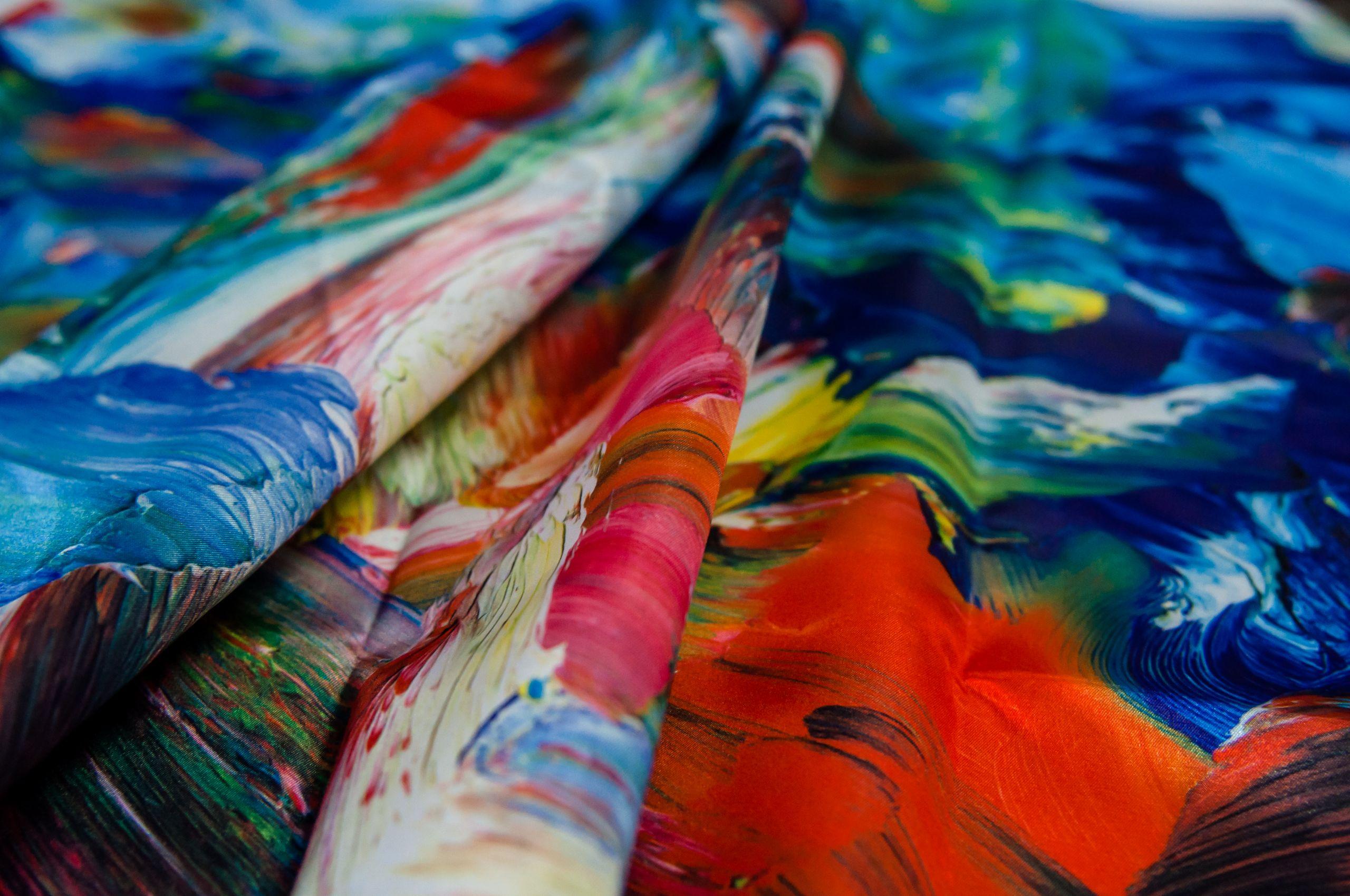 Интерьерная печать на ткани в Москве | фото 1