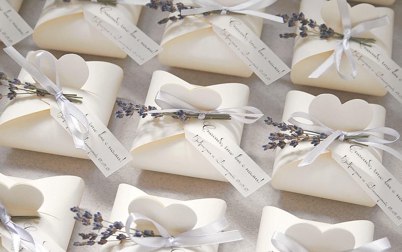 Изготовление бонбоньерок для свадьбы в Москве | фото 3