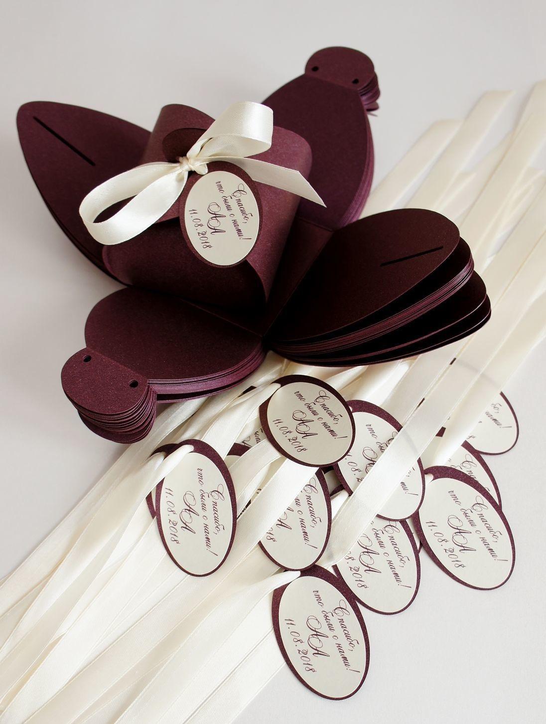Изготовление бонбоньерок для свадьбы в Москве | фото 7