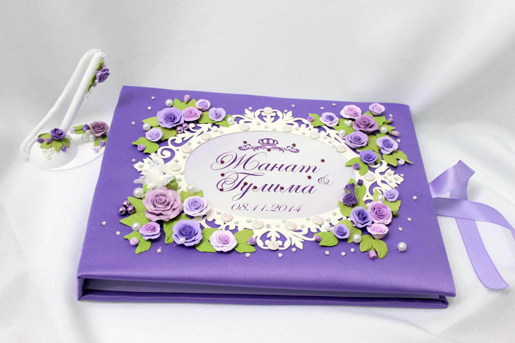 Изготовление книги пожеланий для свадьбы в Москве | фото 2