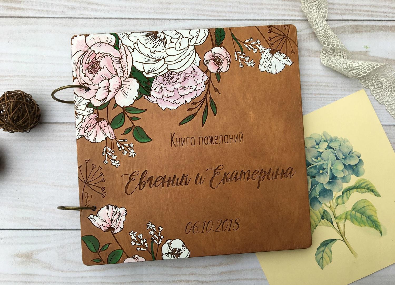 Изготовление книги пожеланий для свадьбы в Москве | фото 6