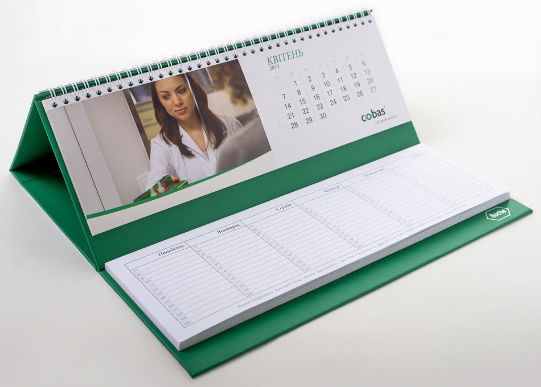 Изготовление настольных календарей-планингов в Москве   фото 5