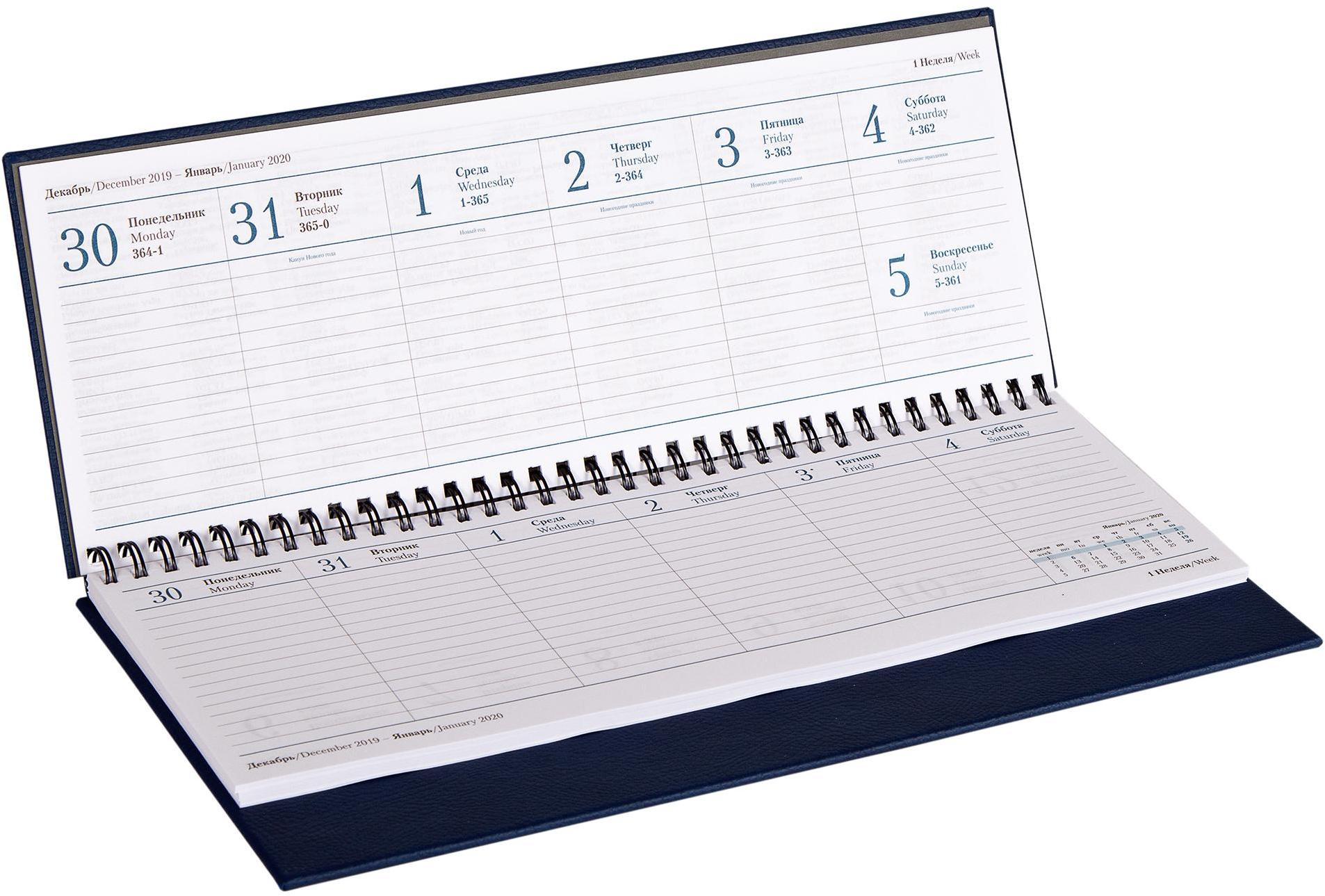 Изготовление настольных календарей-планингов в Москве   фото 6