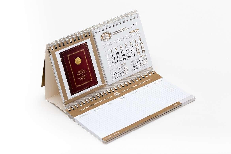Изготовление настольных календарей-планингов в Москве   фото 8
