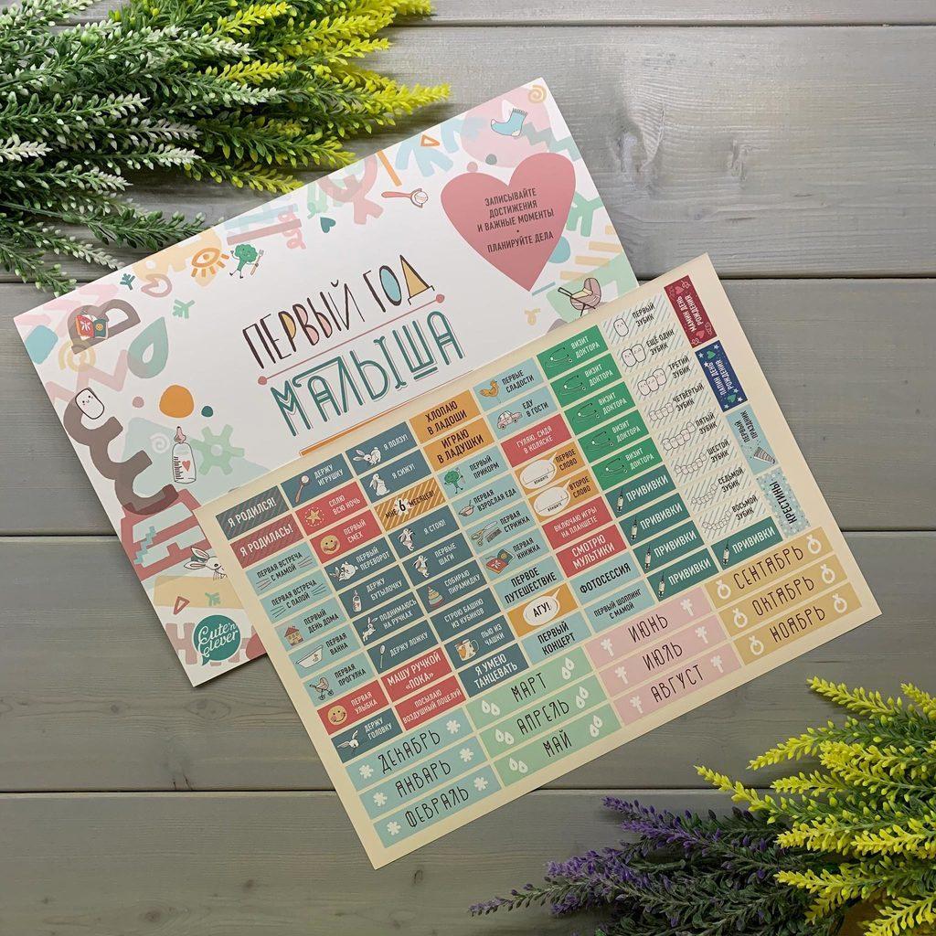 Изготовление семейных календарей-планингов в Москве | фото 2