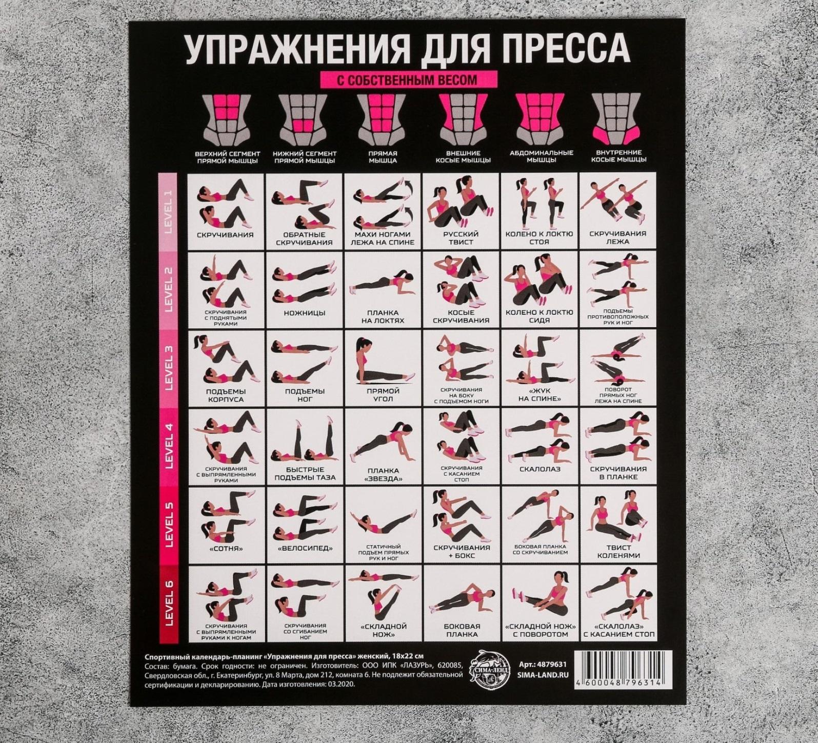Изготовление спортивных календарей-планингов в Москве | фото 4