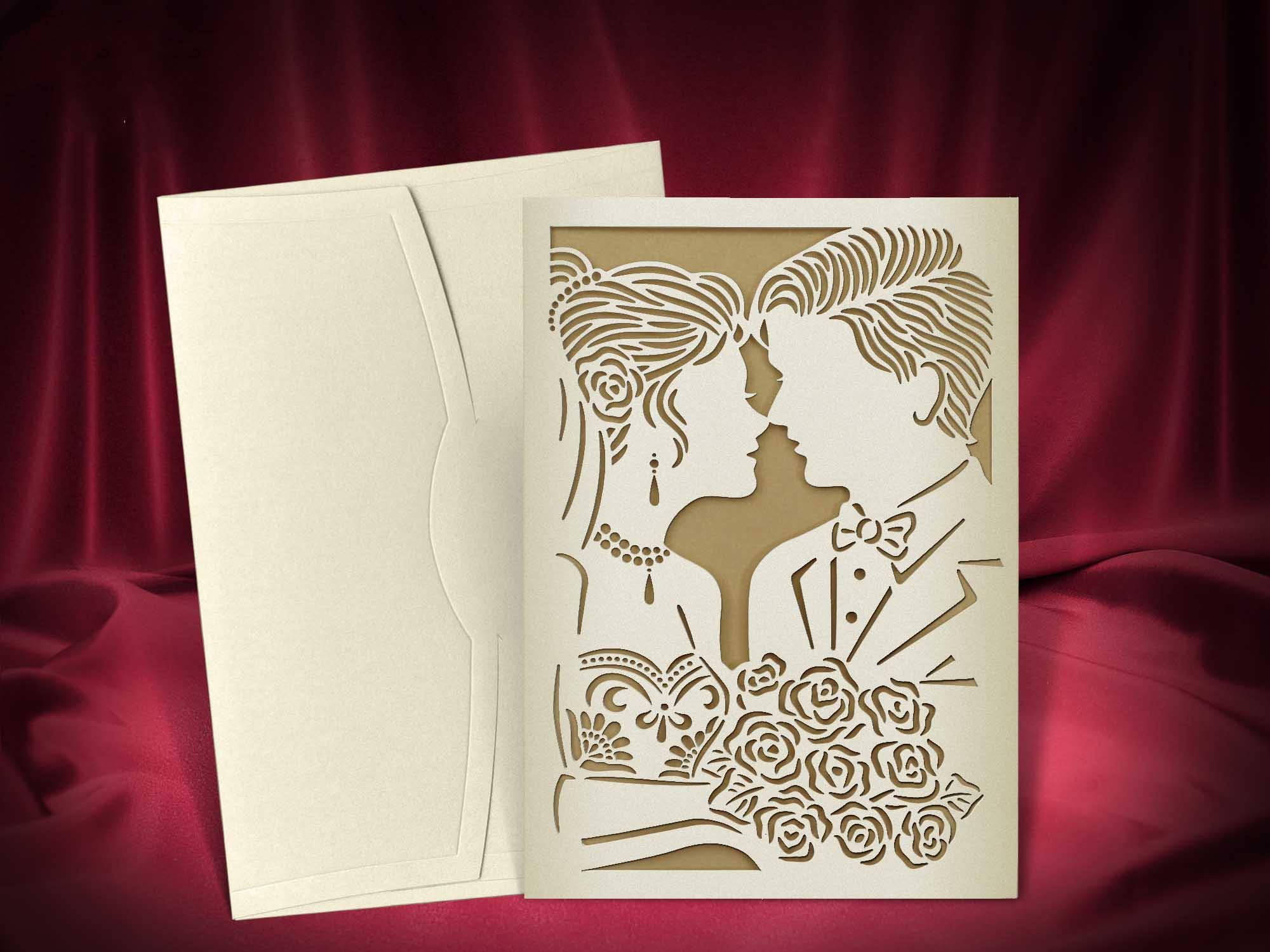 Печать эксклюзивных приглашений на свадьбу дешево