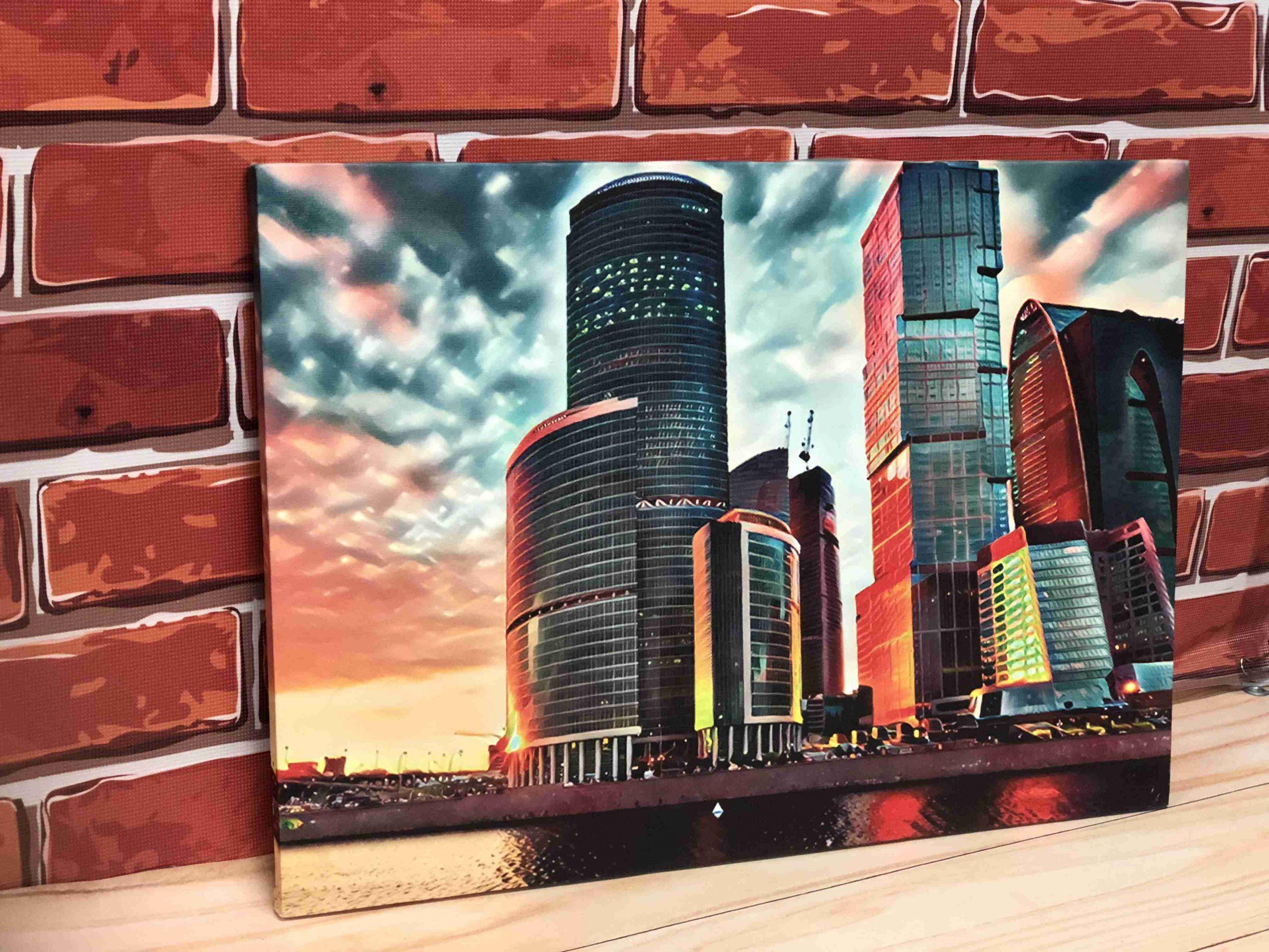 Печать на холсте А2 в Москве   фото 8