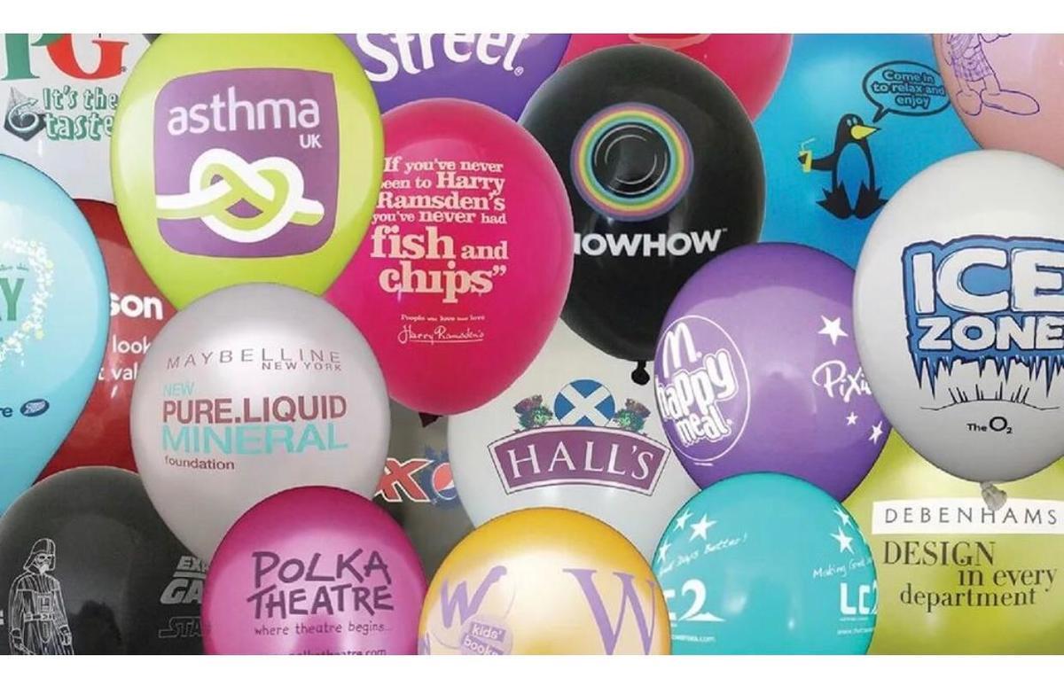 Печать наклеек для шаров