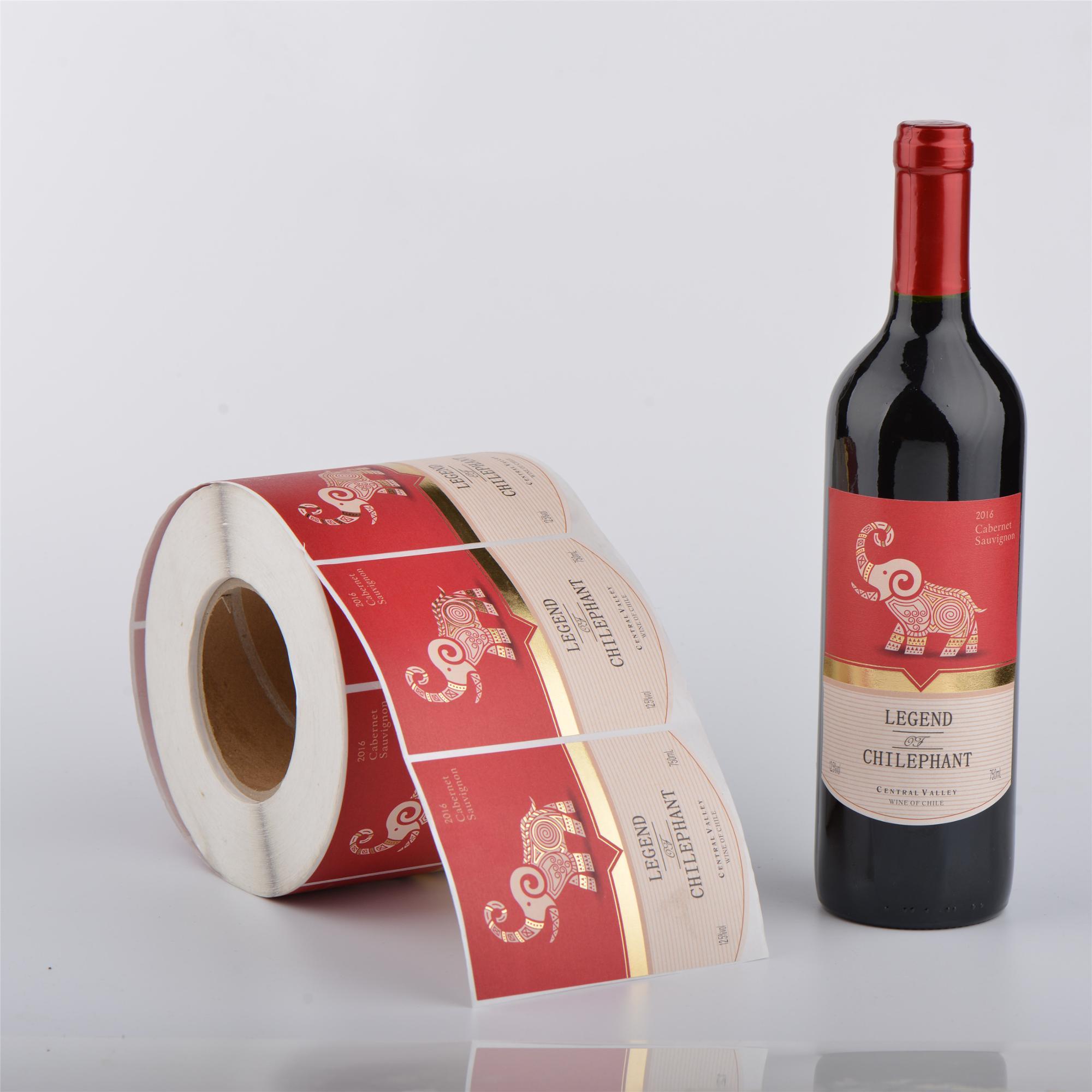 Печать наклеек на бутылку в Москве   фото 7