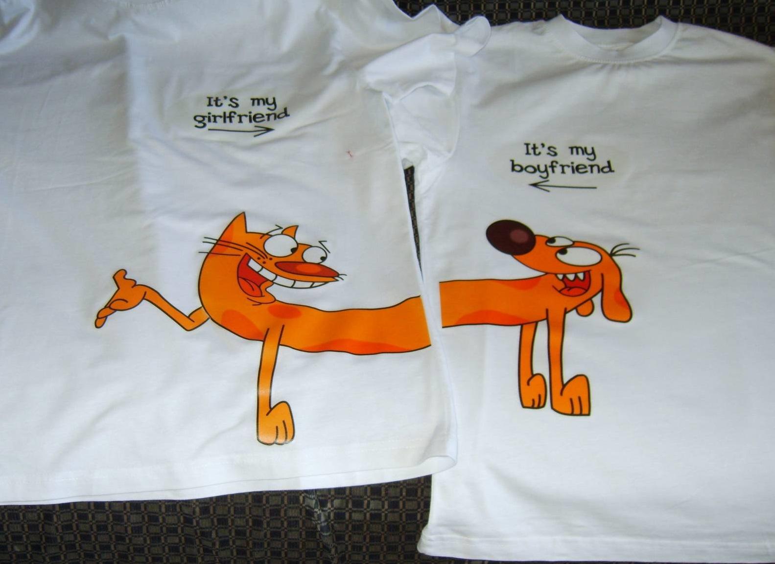 Печать наклеек на футболки в Москве   фото 2