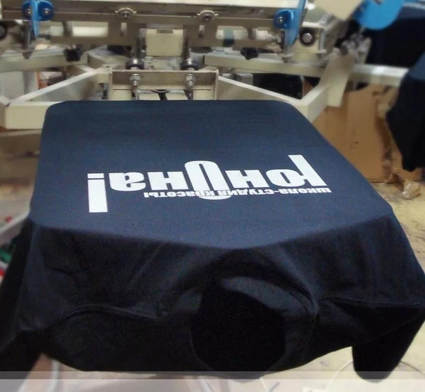 Печать наклеек на футболки в Москве   фото 8
